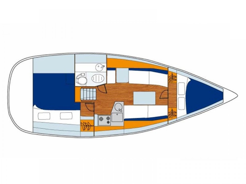 Alquiler de barcos Marina Gouvia barato de Sunsail 33i