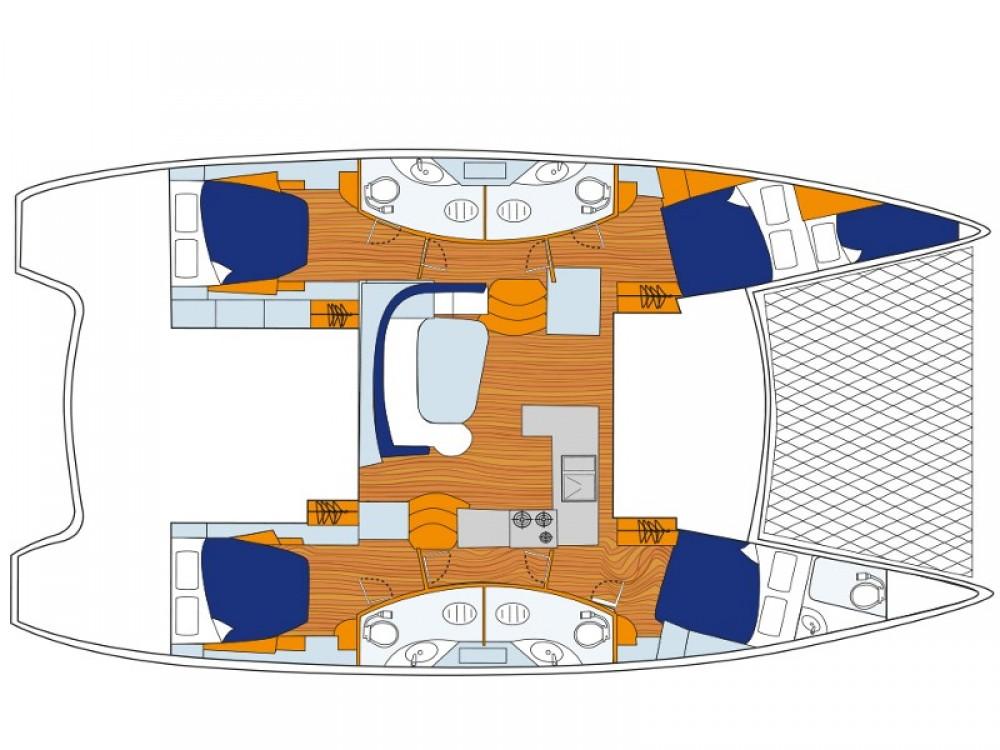 Alquiler de Catamarán, con o sin patrón Leopard ACI Marina Dubrovnik