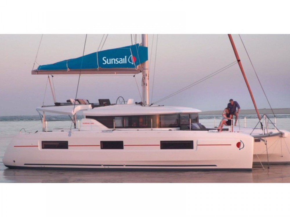 Lagoon Sunsail 46 Cat entre particulares y profesional Road Town