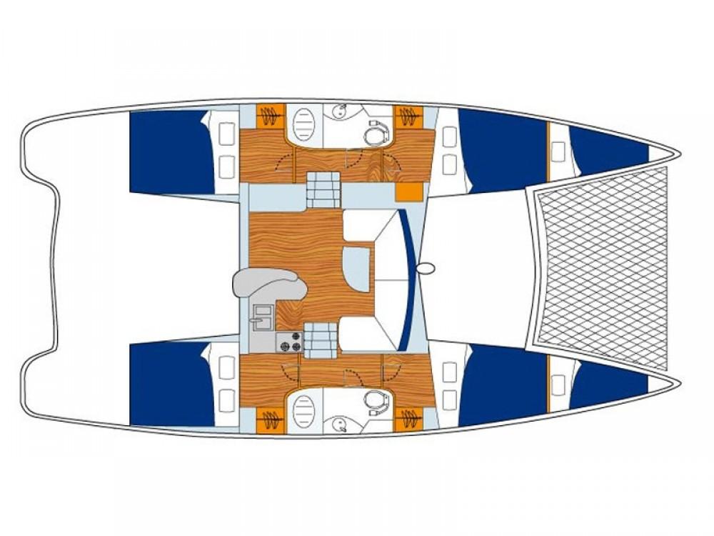 Alquiler de barcos Stann Creek barato de Sunsail 404