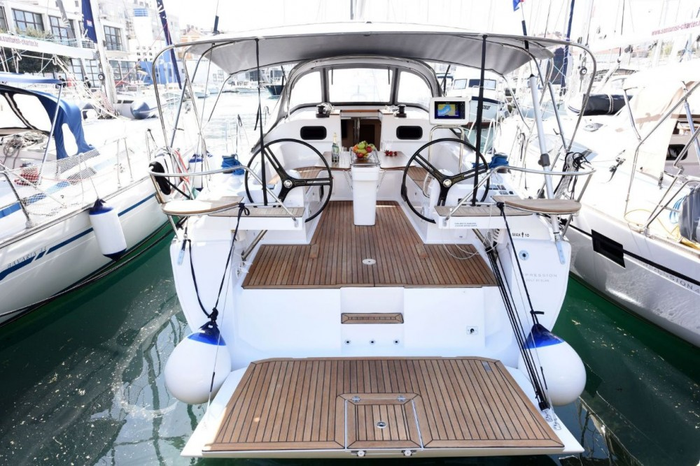 Alquiler de barcos Zadar barato de Elan Impression 45