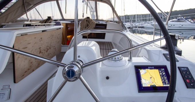 Alquiler Velero Dufour con título de navegación