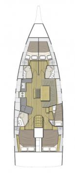 Alquiler de barcos Lefkada (Isla) barato de Oceanis 46.1
