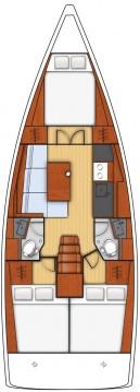Alquiler de yate Donji Seget - Bénéteau Oceanis 38.1 en SamBoat