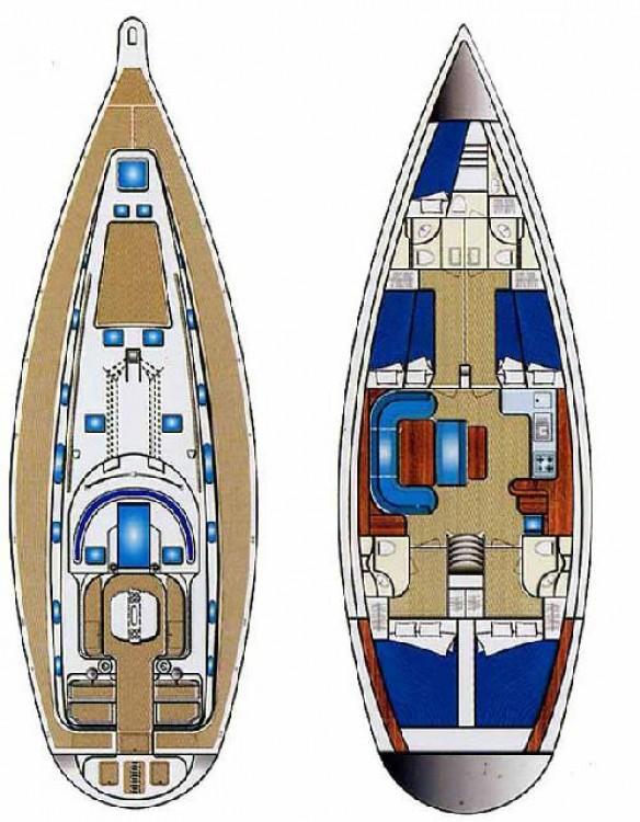 Alquiler de yate Peloponnese - Ocean Star Ocean Star 51.2 - 5 cab. en SamBoat