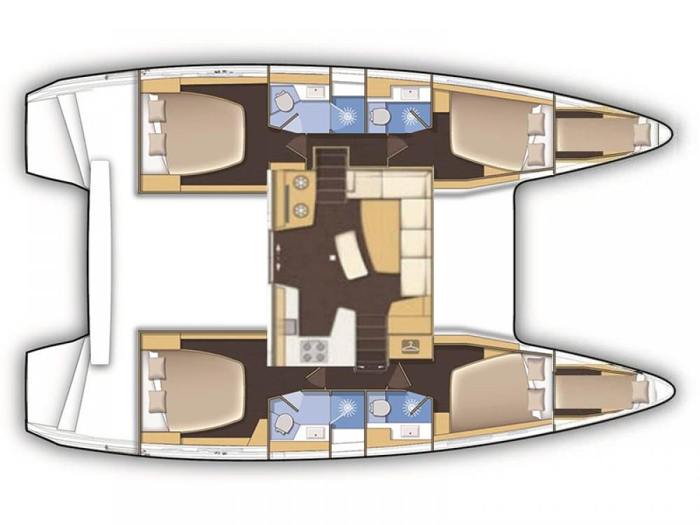Alquiler de Catamarán, con o sin patrón Lagoon