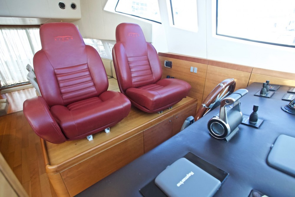 Alquiler de Aicon-Yachts Aicon 64 - 4 + 1 cab. en Milazzo