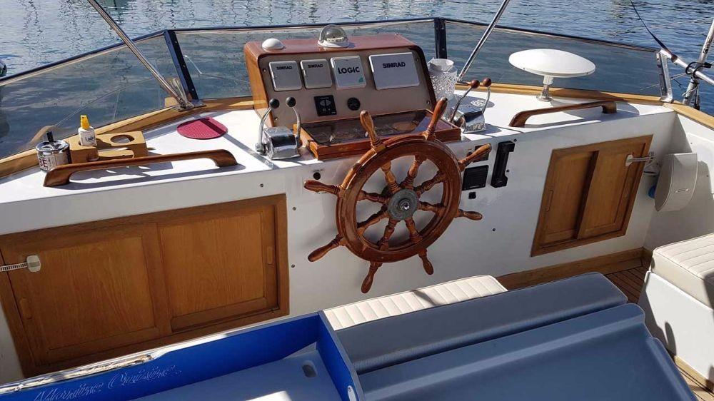 Alquiler Lancha en Zadar - Custom Made Trawler HAMPTON 42