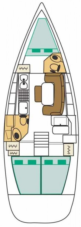 Alquiler de barcos Peloponneso barato de Cyclades 39.3