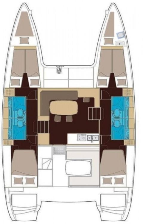 Alquiler de barcos Peloponnese barato de Lagoon 400