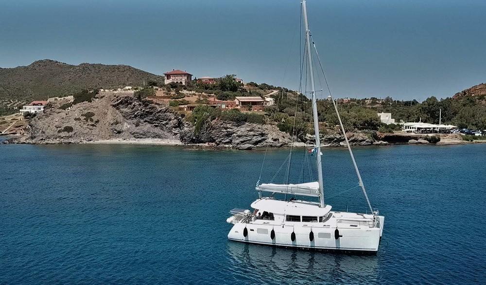 Alquiler de Catamarán, con o sin patrón Lagoon Peloponnese