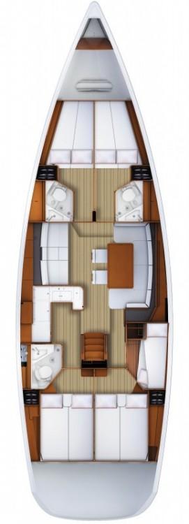 Alquiler de barcos Nápoles barato de Jeanneau 53
