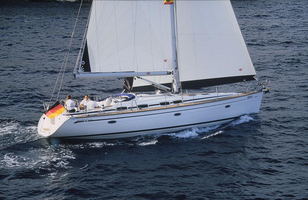 Bavaria Cruiser 46 entre particulares y profesional Corfú