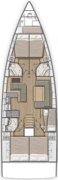 Alquiler de yate Gouviá - Bénéteau Oceanis 51.1 en SamBoat