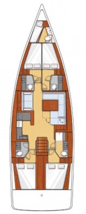 Alquiler de barcos  barato de Oceanis 55
