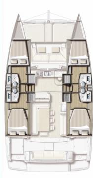 Alquiler de barcos Split barato de Bali 4.1 - 4 cab.