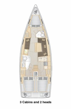 Alquiler de barcos Hanse Hanse 418 enSplit en Samboat