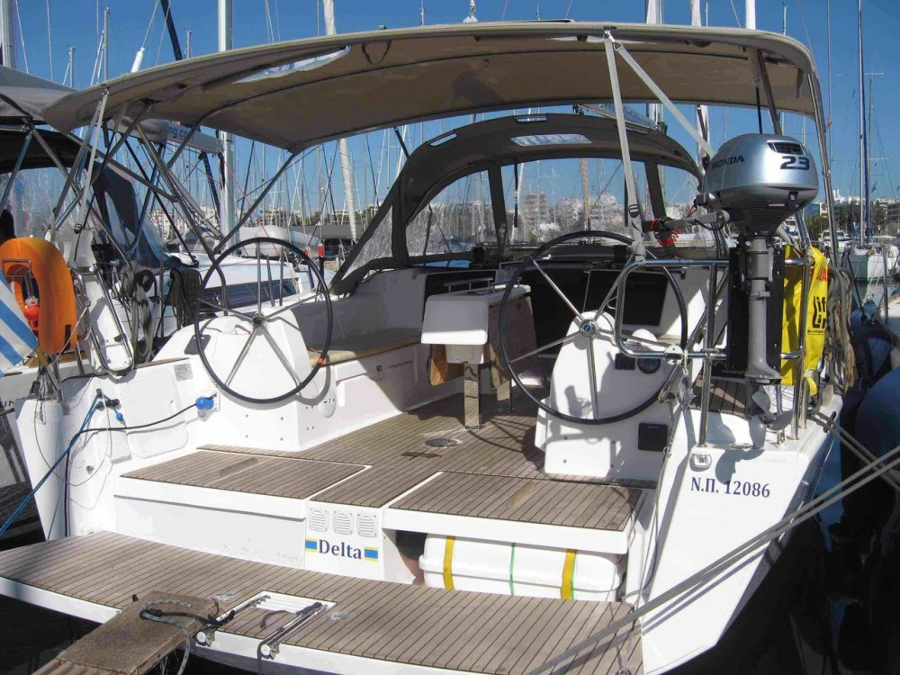 Alquiler de barcos Peloponnese barato de Dufour 382 Grand Large