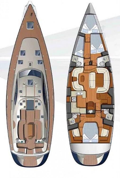 Alquiler de yate Cartagena de Indias - Jeanneau Sun Odyssey 54 DS en SamBoat