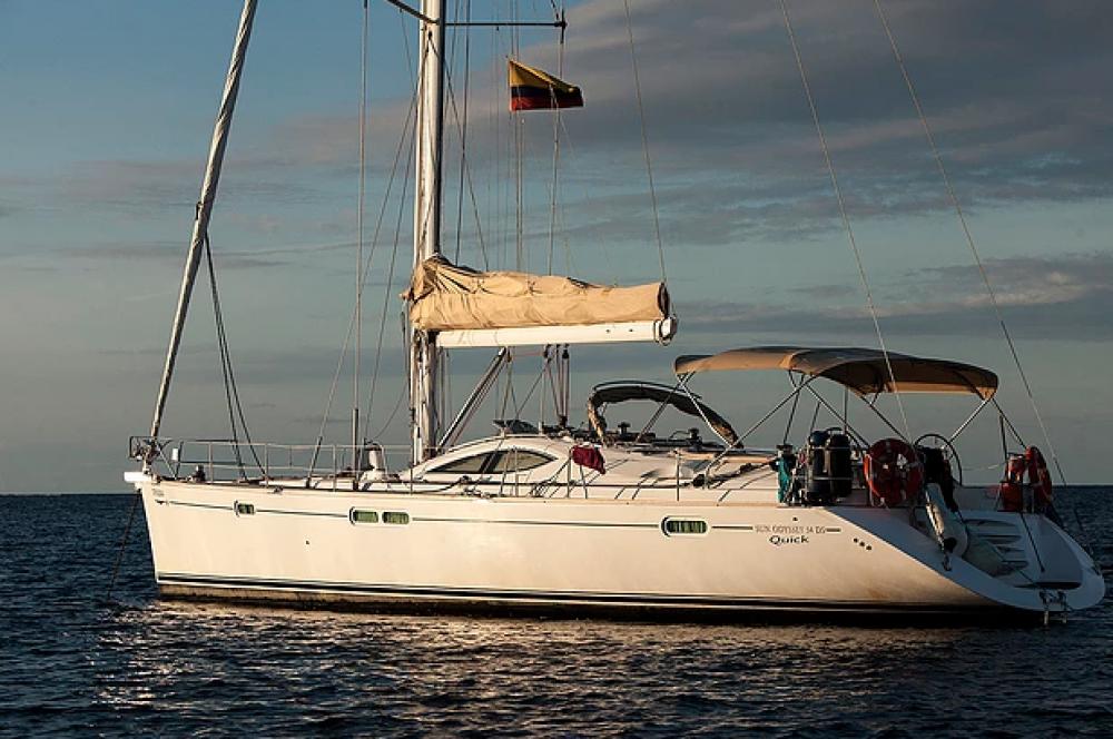 Velero para alquilar Cartagena de Indias al mejor precio