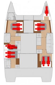 Alquiler de barcos Biograd na Moru barato de Saona 47
