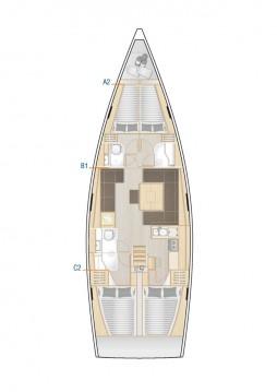 Alquiler de barcos Biograd na Moru barato de Hanse 458