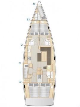 Alquiler de Hanse Hanse 508 en Biograd na Moru