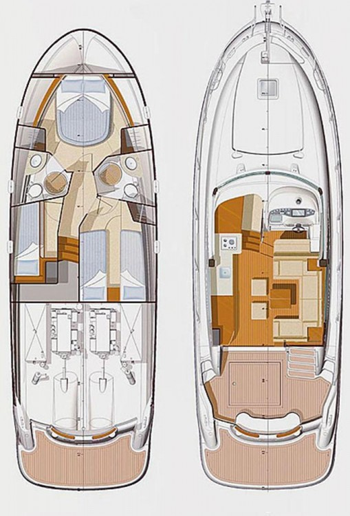 Alquiler de barcos Jeanneau Prestige 42 Fly enCroacia en Samboat