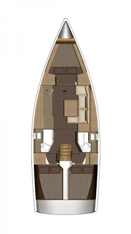 Alquiler de barcos Marina Šangulin barato de Dufour 382 Grand Large