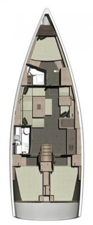 Alquiler de Dufour Dufour 412 Grand Large en Marina Šangulin