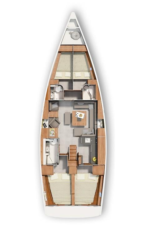 Alquiler de yate  - Hanse Hanse 455 en SamBoat