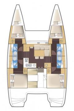 Alquiler de Catamarán, con o sin patrón Lagoon Biograd na Moru