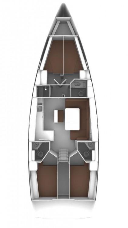 Bavaria Cruiser 46 entre particulares y profesional Marina Šangulin