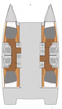 Alquiler Catamarán en Newport - Fountaine Pajot Astrea 42