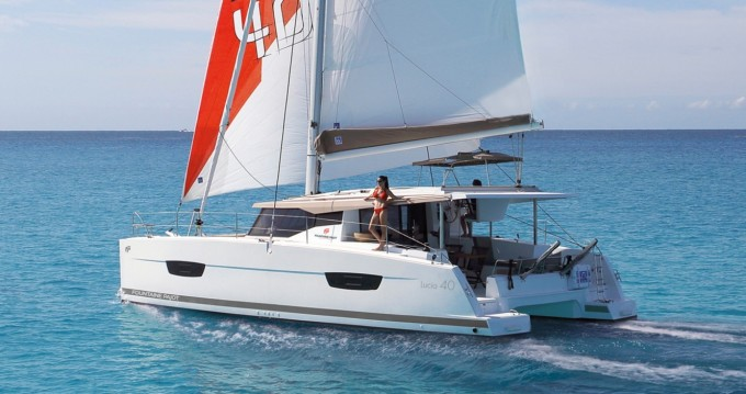 Catamarán para alquilar Marina Cay al mejor precio