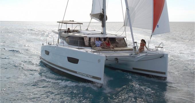Alquiler Catamarán en Marina Cay - Fountaine Pajot Lucia 40