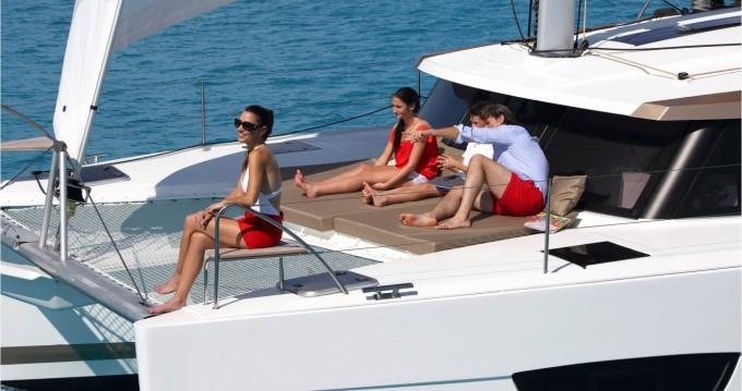 Alquiler de Fountaine Pajot Lucia 40 en Marina Cay