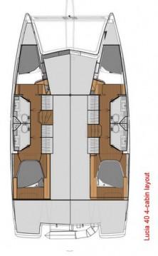 Alquiler Catamarán en Atenas - Fountaine Pajot Lucia 40