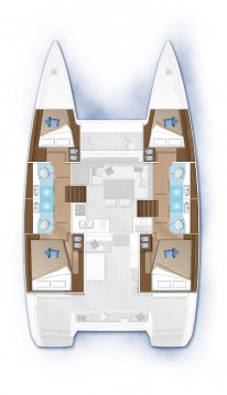 Alquiler Catamarán Lagoon con título de navegación