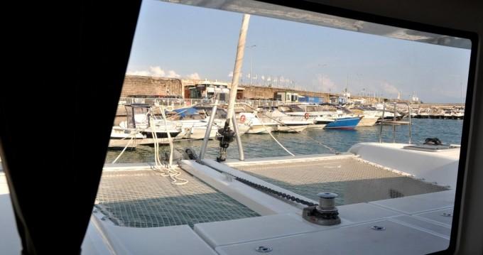 Alquiler de Catamarán, con o sin patrón Lagoon Salerno