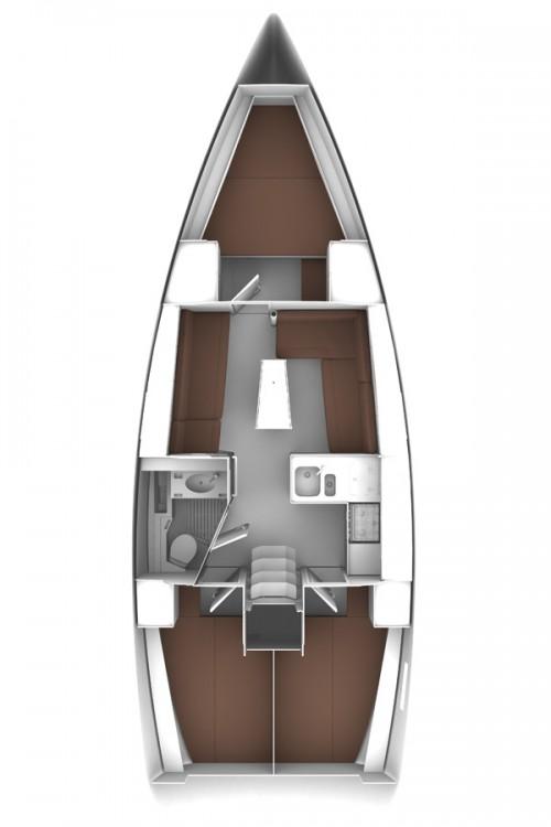 Bavaria Cruiser 37 entre particulares y profesional Vrsar