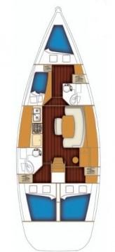 Alquiler de barcos Marmaris barato de Cyclades 43.4
