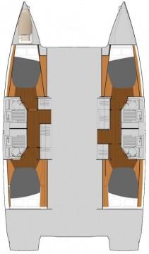 Alquiler de Catamarán, con o sin patrón Fountaine Pajot Marmaris