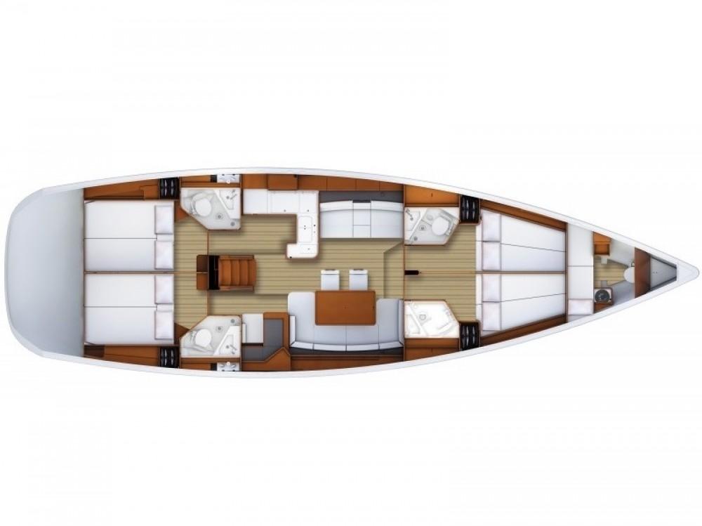 Alquiler de Jeanneau Jeanneau 53 en Marmaris Yacht Marina A.Ş