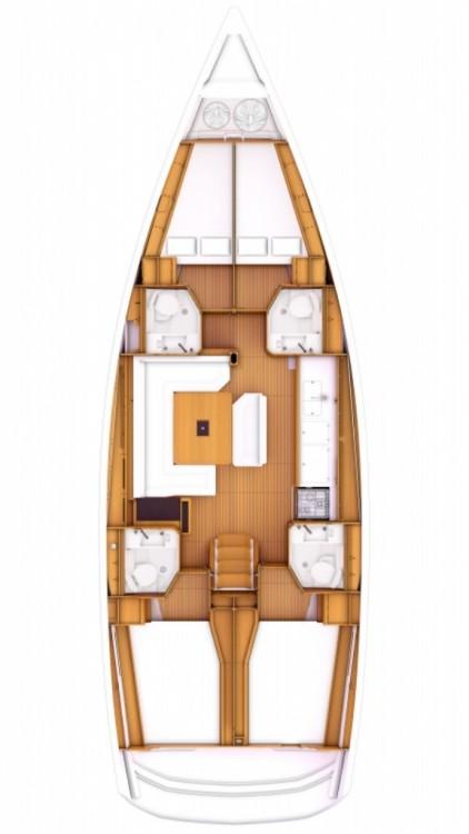 Alquiler de yate Marmaris Yacht Marina A.Ş - Jeanneau Sun Odyssey 479 en SamBoat