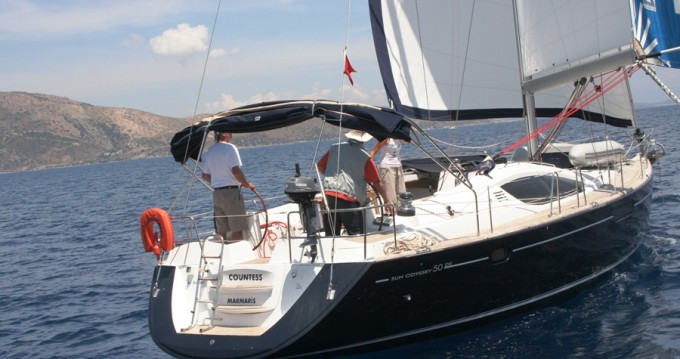 Jeanneau Sun Odyssey 50 DS entre particulares y profesional Marmaris