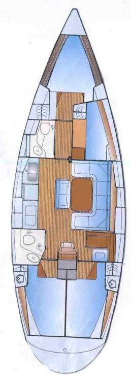 Alquiler de barcos  Léucade barato de Bavaria 42