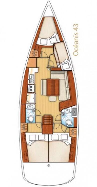 Alquiler de yate Peloponnese - Bénéteau Oceanis 43 en SamBoat