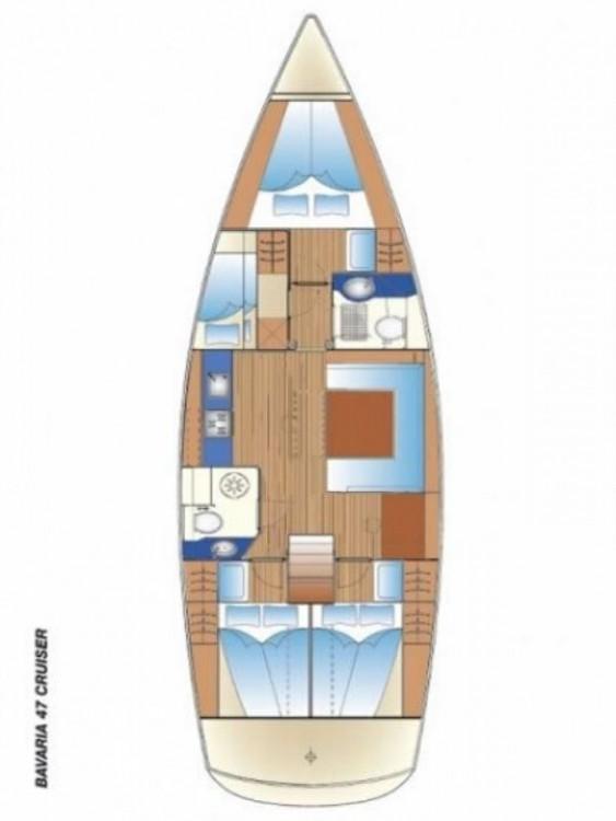 Bavaria Cruiser 47 entre particulares y profesional Páros