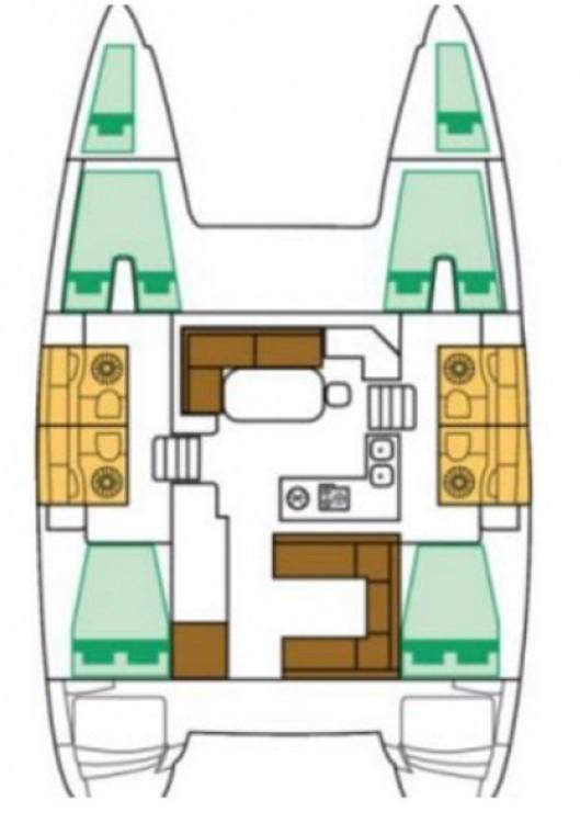 Alquiler de barcos Lagoon Lagoon 400 S2 enPeloponnese en Samboat